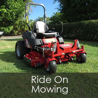 Ride On Mowing